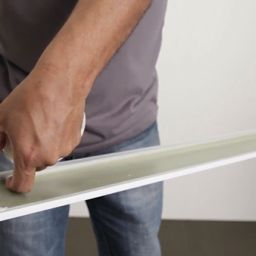 Why glue works better than nails in installing baseboards and trims